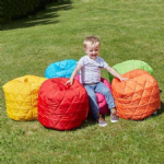 Quilted Toddler Beanbags  Set of 5